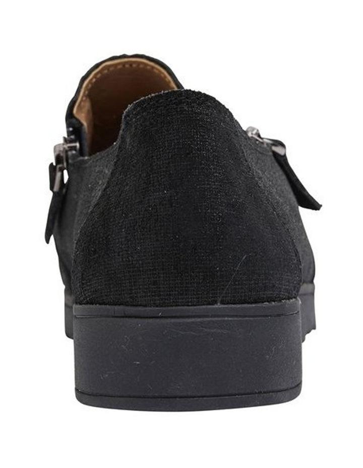 Dean Black Combo Flat Shoes image 6