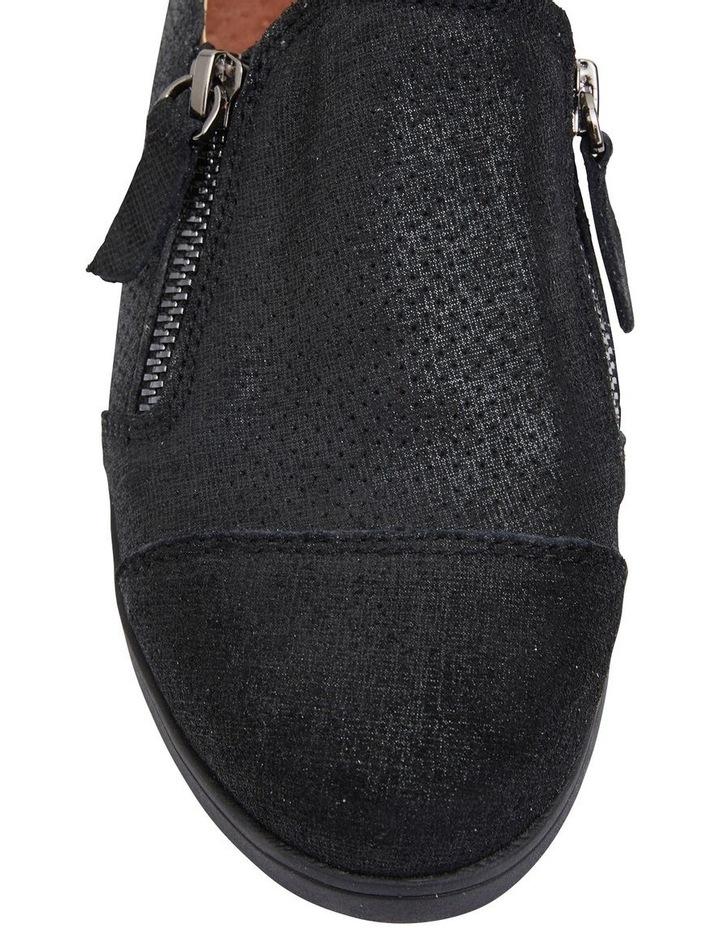 Dean Black Combo Flat Shoes image 7