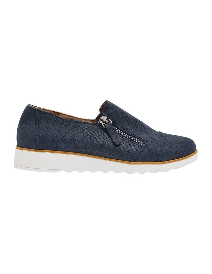 Dean Navy Combo Flat Shoes image 1