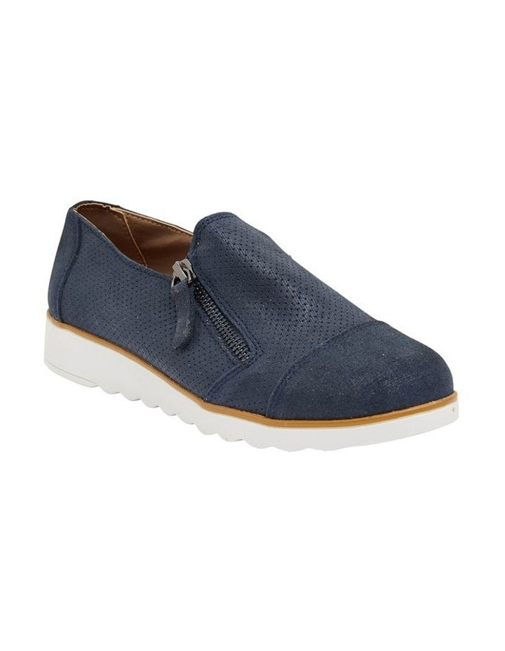 Dean Navy Combo Flat Shoes image 2