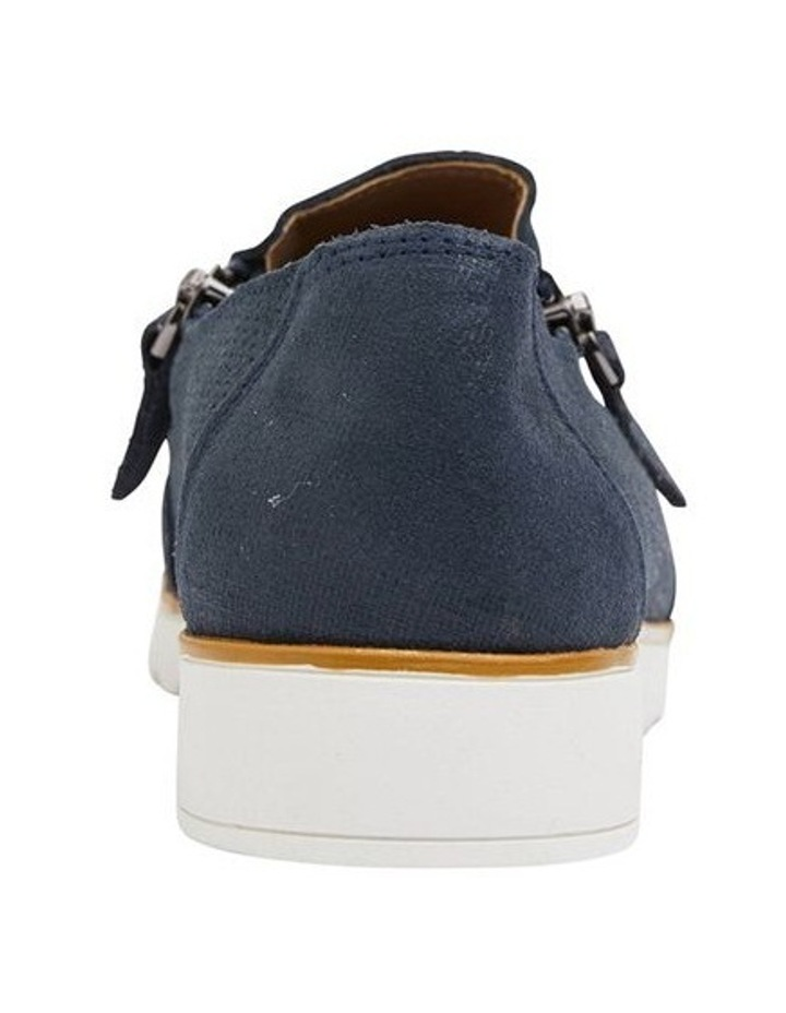 Dean Navy Combo Flat Shoes image 5