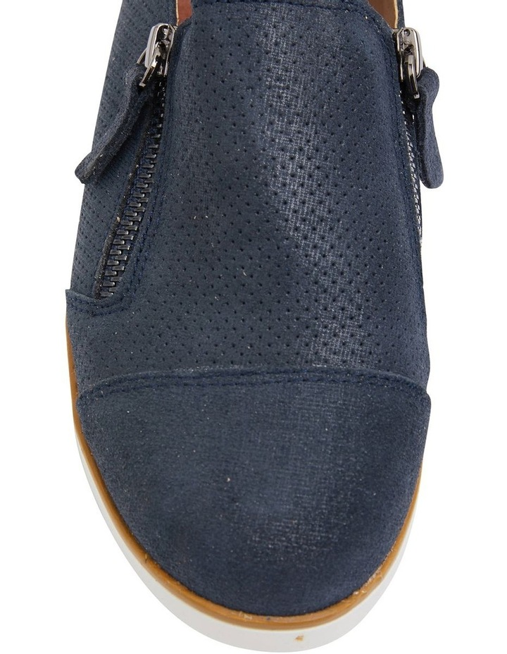 Dean Navy Combo Flat Shoes image 7