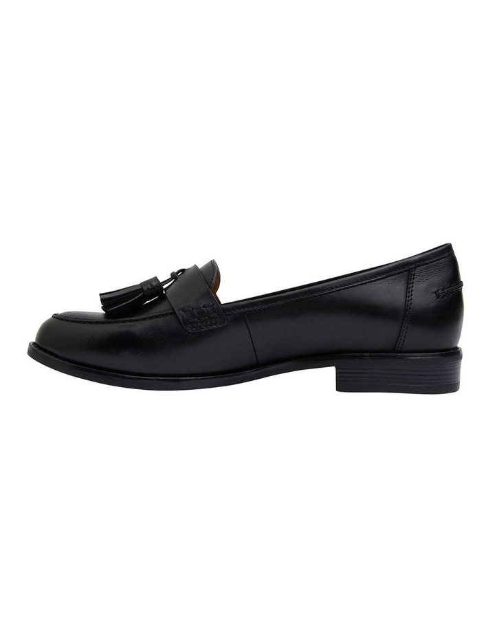 Gazebo Black Glove Flat Shoes image 3