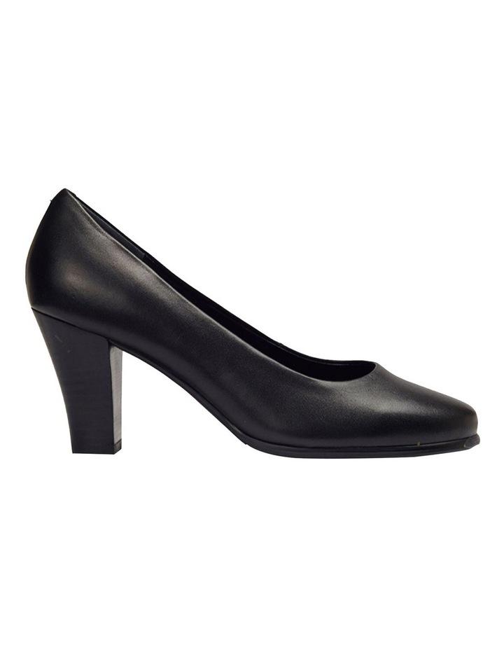 Clara Black Glove Heeled Shoes image 1