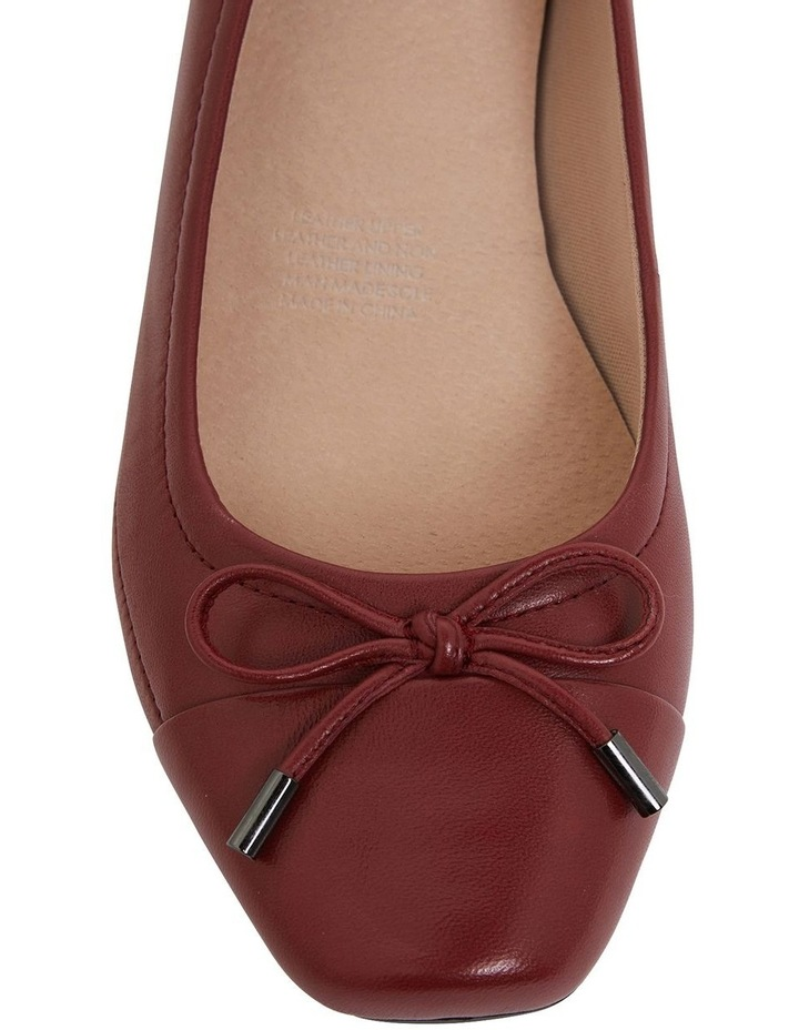 Glove Heeled Shoes Shannon Red image 7