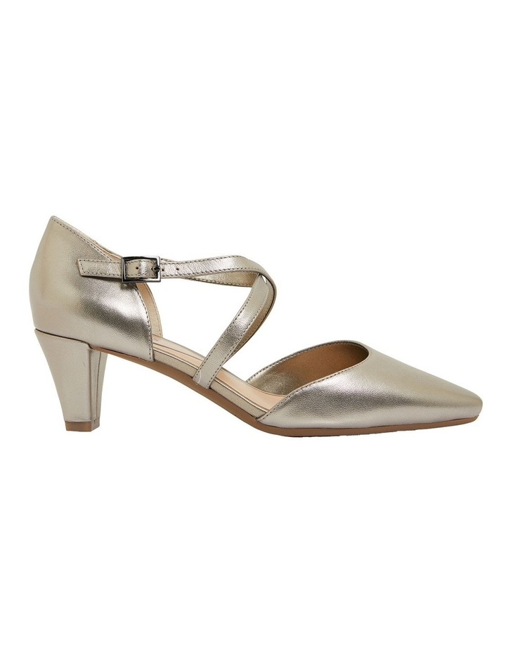 Adison Pewter Metallic Heeled Shoes image 1
