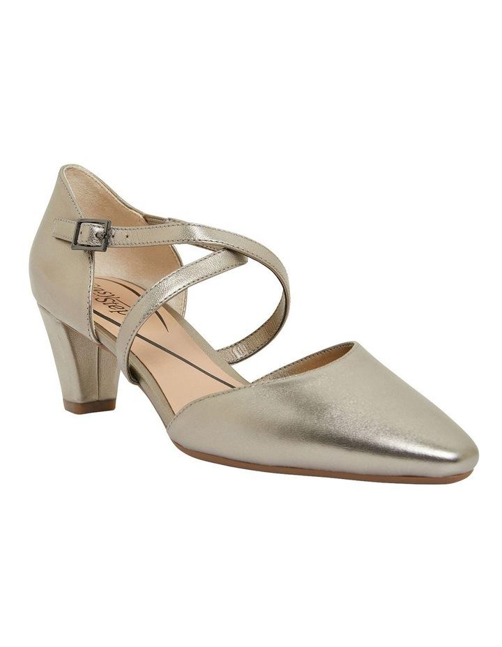 Adison Pewter Metallic Heeled Shoes image 2