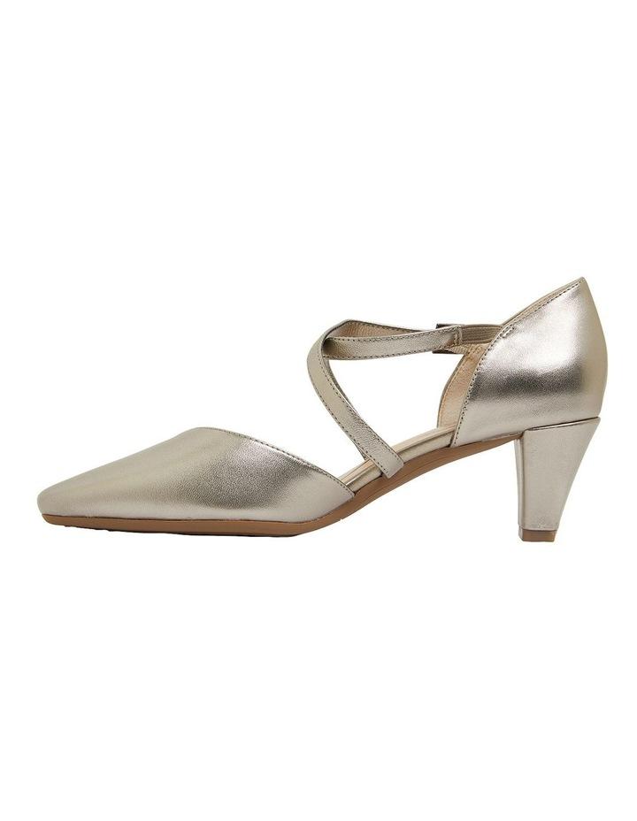 Adison Pewter Metallic Heeled Shoes image 3