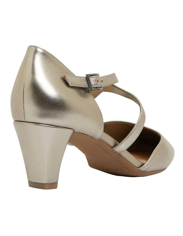 Adison Pewter Metallic Heeled Shoes image 4