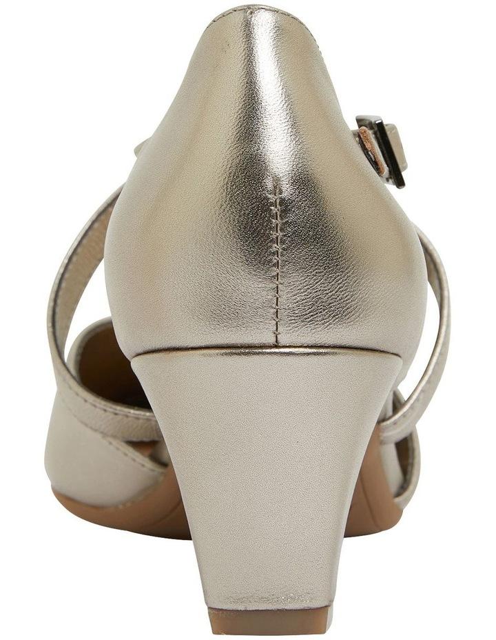 Adison Pewter Metallic Heeled Shoes image 5
