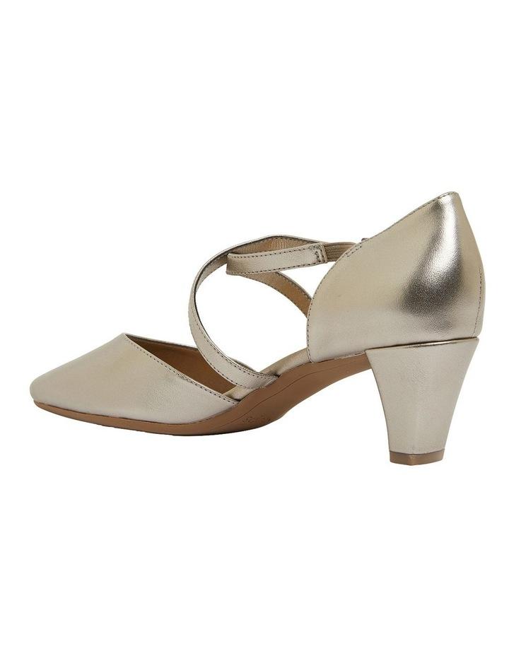 Adison Pewter Metallic Heeled Shoes image 6