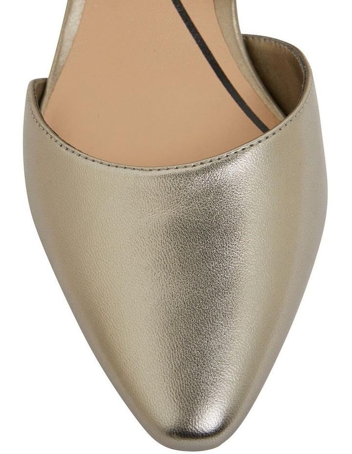 Adison Pewter Metallic Heeled Shoes image 7