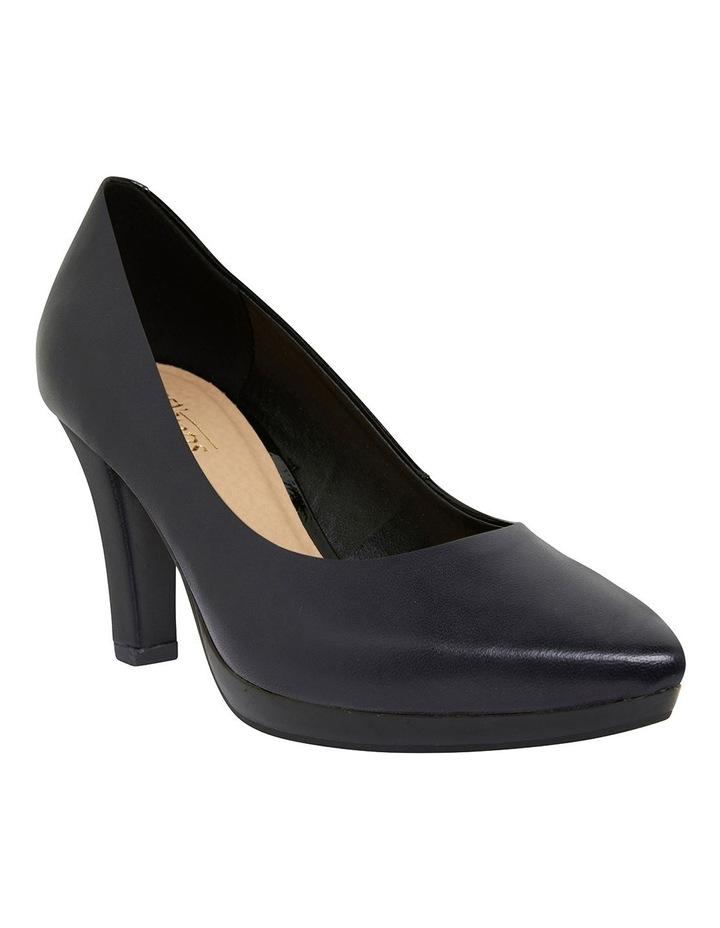 Opera Black Glove Heeled Shoes image 2
