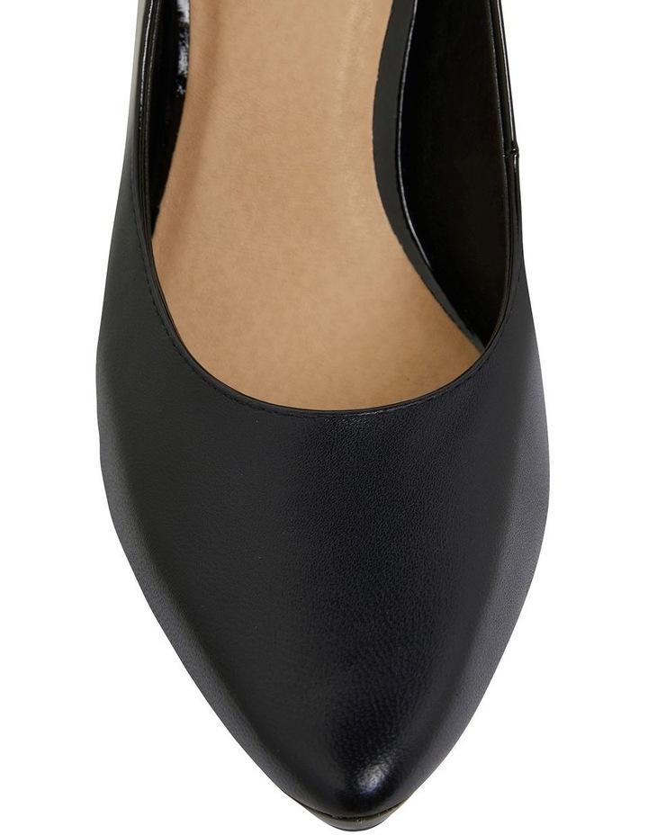 Opera Black Glove Heeled Shoes image 6