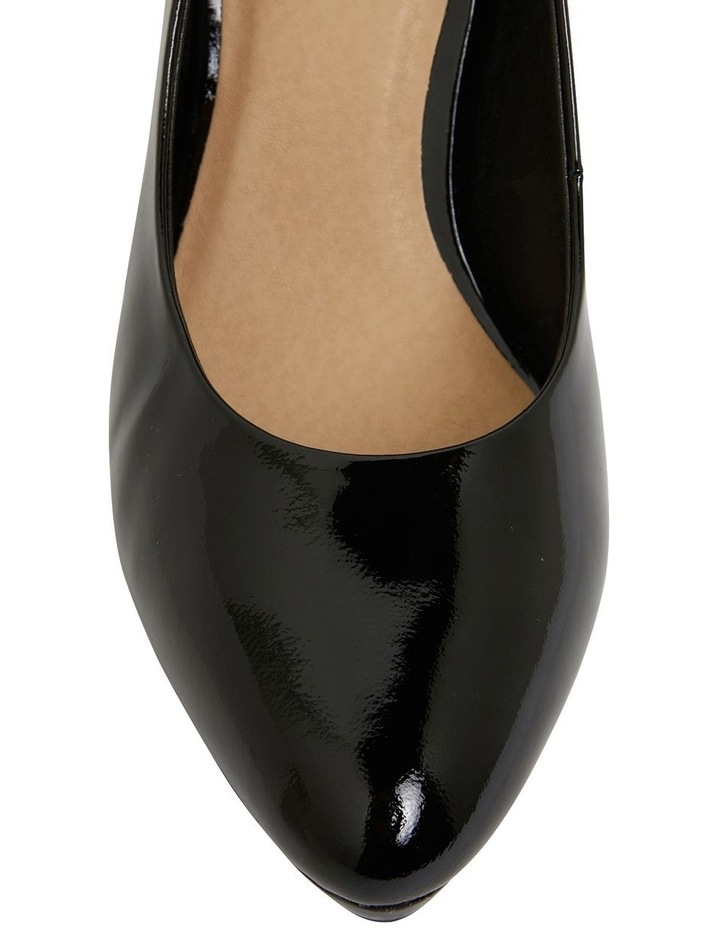 Opera Black Patent Heeled Shoes image 6