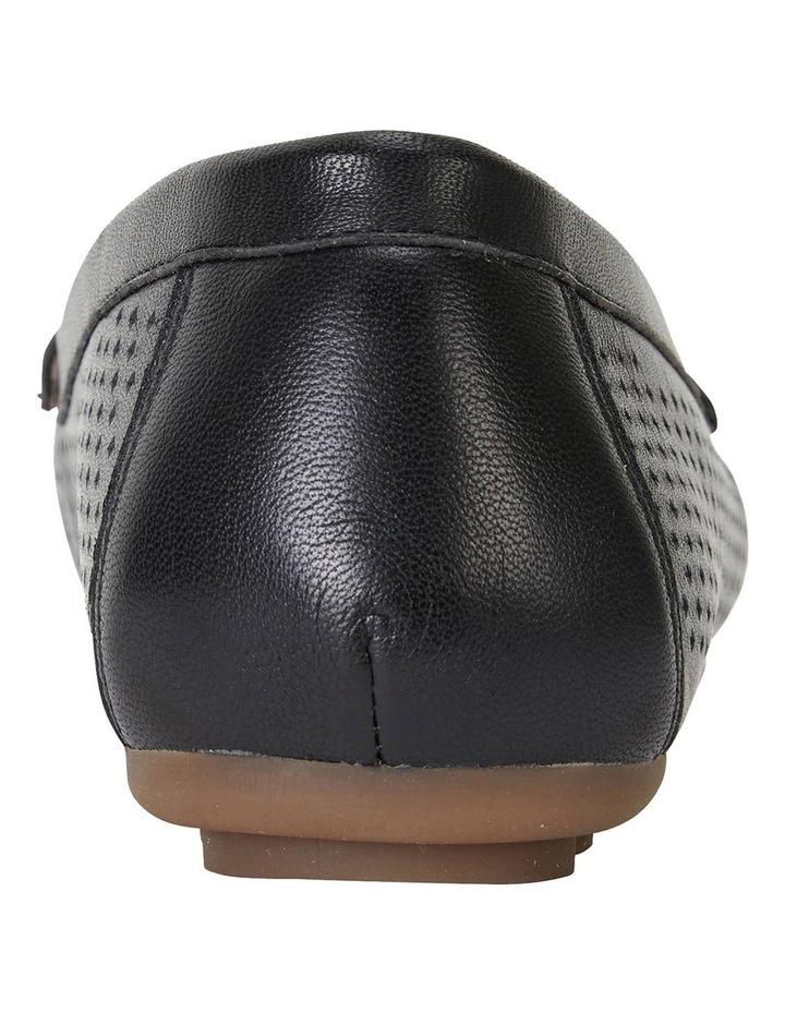 Gabriel Black Glove Flat Shoes image 5