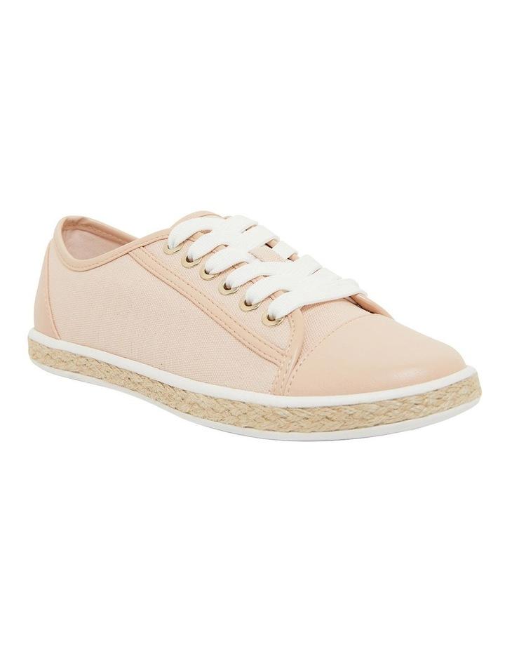 Yale Blush Smooth Flat Shoes image 2