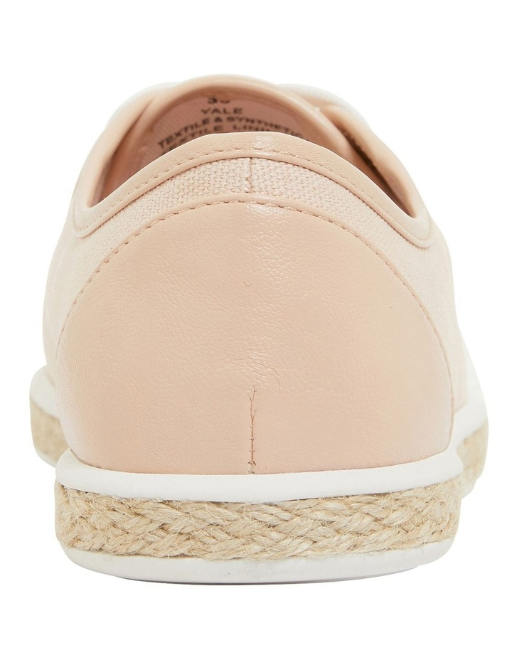 Yale Blush Smooth Flat Shoes image 5