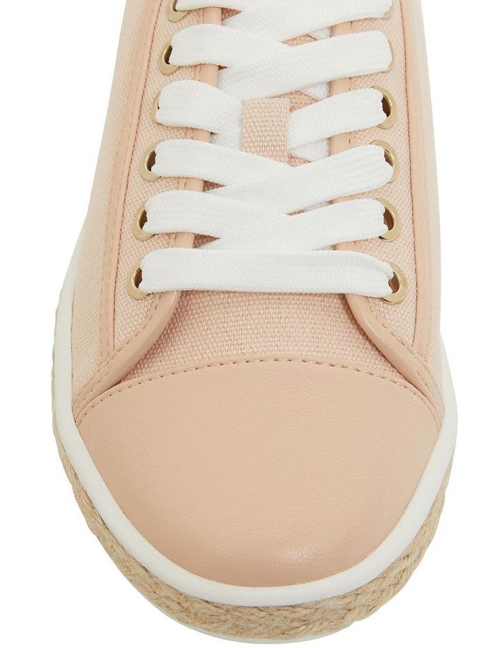 Yale Blush Smooth Flat Shoes image 6