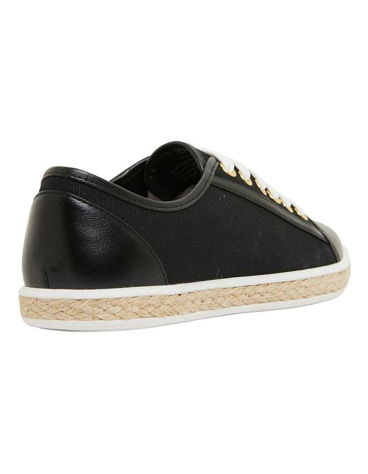 Yale Black Smooth Flat Shoes image 4