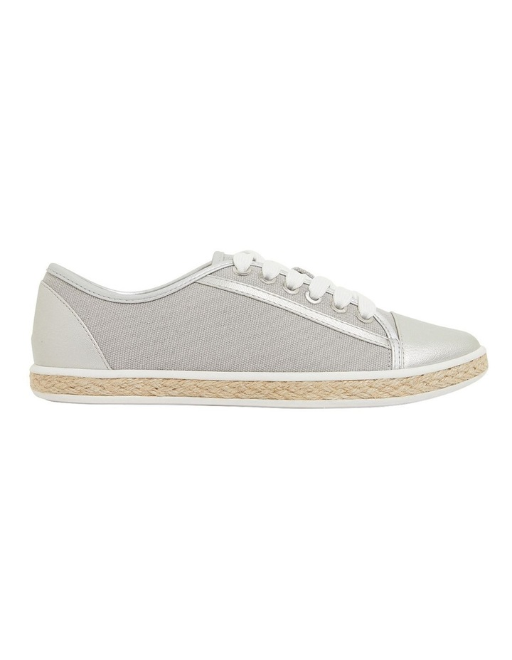Yale Silver Smooth Flat Shoes image 1