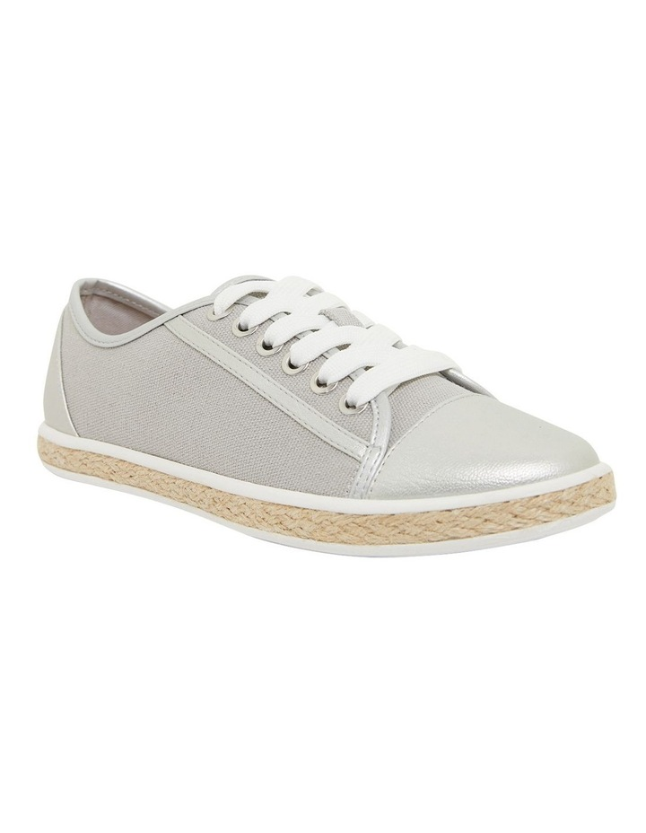 Yale Silver Smooth Flat Shoes image 2