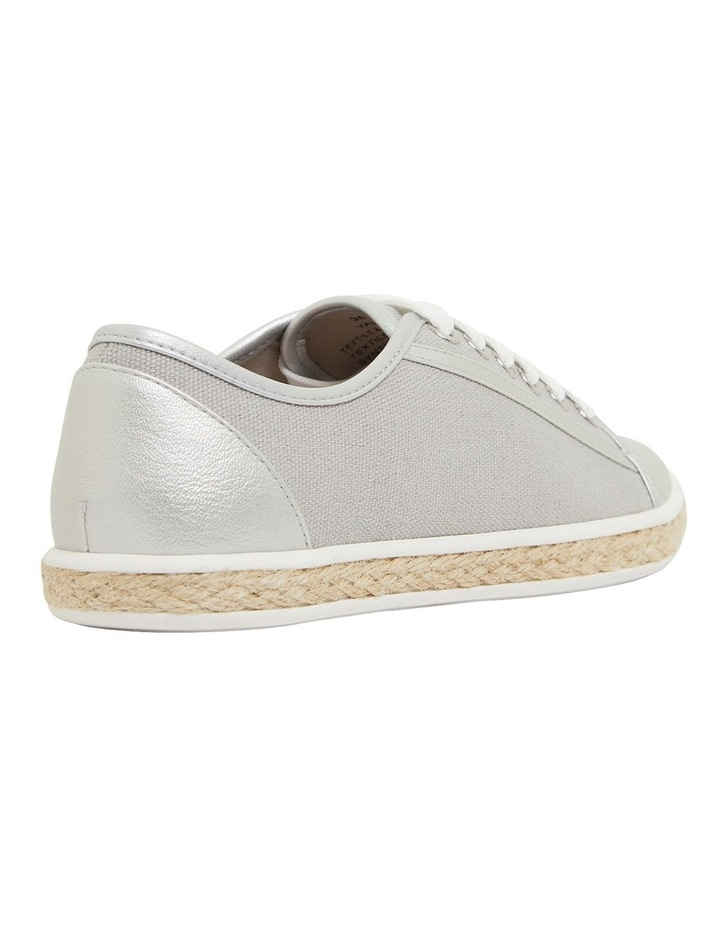 Yale Silver Smooth Flat Shoes image 4