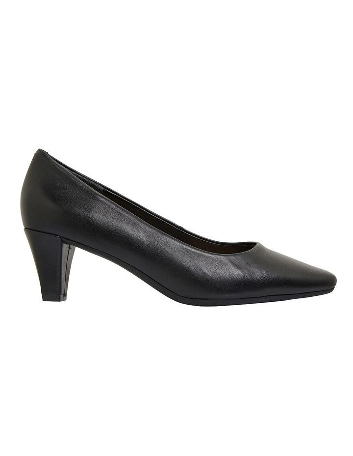Aiken Black Glove Heeled Shoes image 1