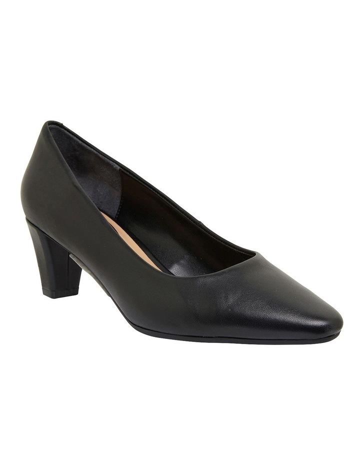 Aiken Black Glove Heeled Shoes image 2