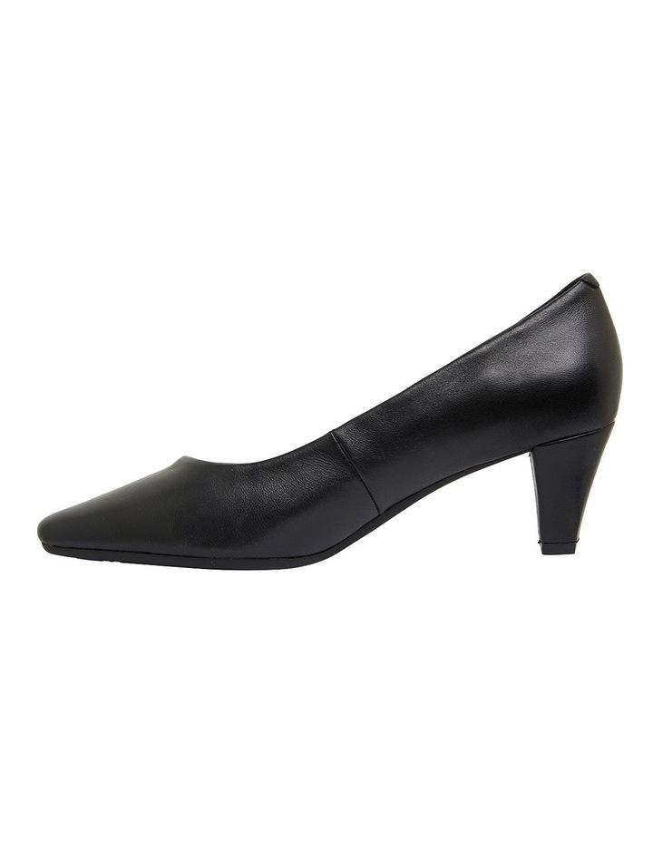 Aiken Black Glove Heeled Shoes image 3
