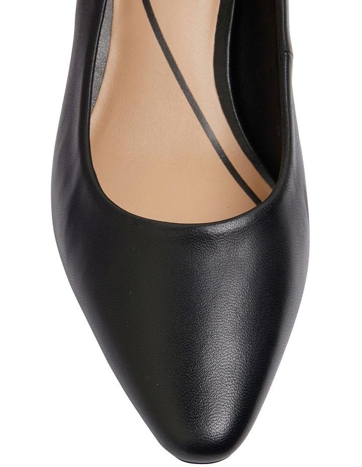 Aiken Black Glove Heeled Shoes image 6