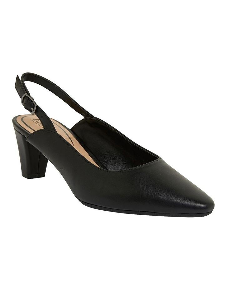 Agatha Black Glove Heeled Shoes image 2