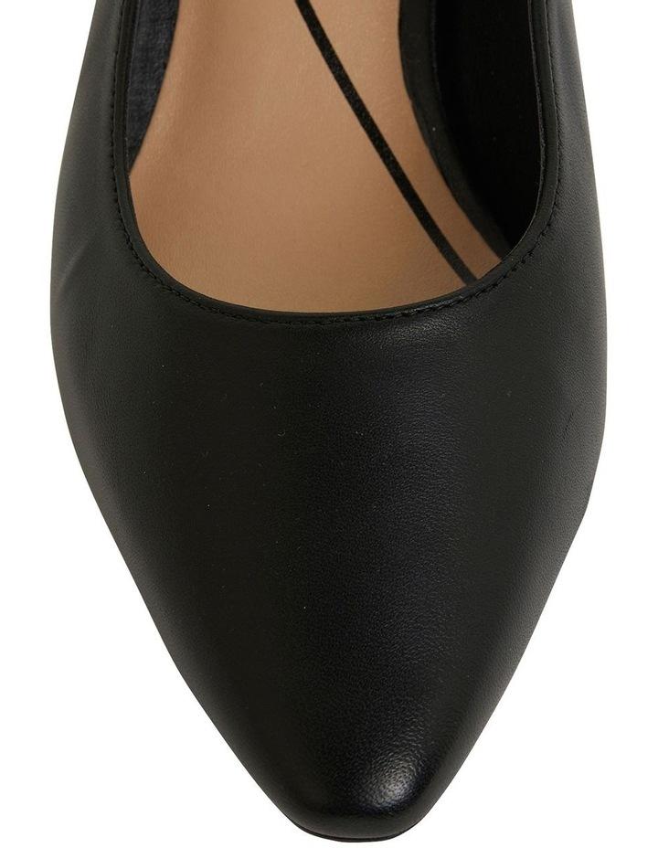 Agatha Black Glove Heeled Shoes image 6