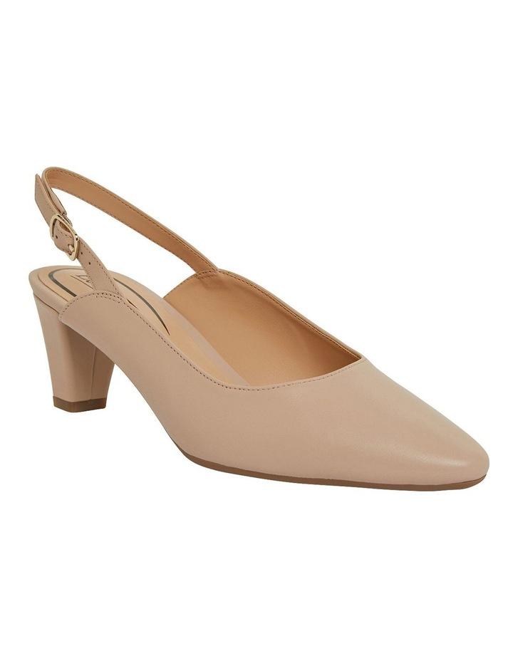 Agatha Blush Glove Heeled Shoes image 2