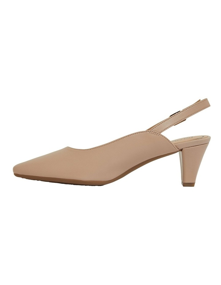 Agatha Blush Glove Heeled Shoes image 3