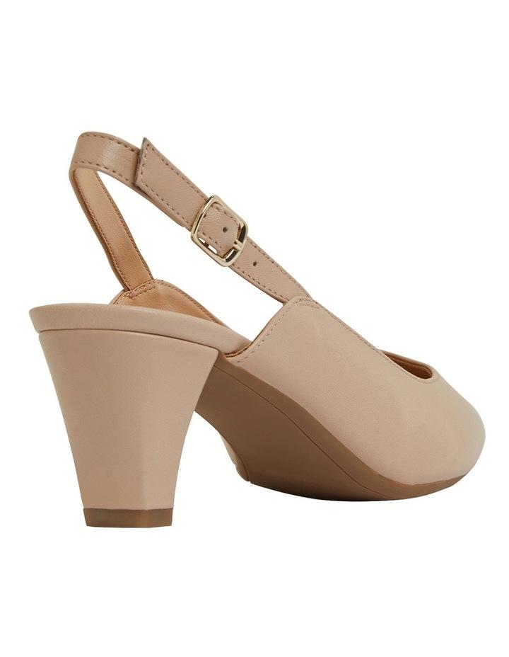 Agatha Blush Glove Heeled Shoes image 4