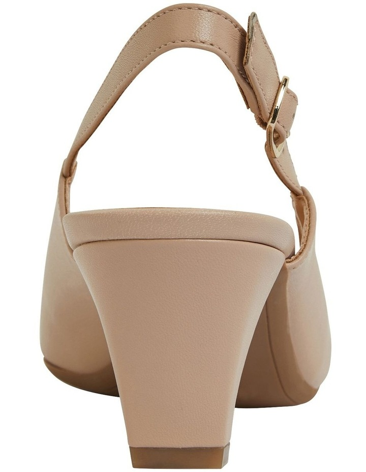 Agatha Blush Glove Heeled Shoes image 5