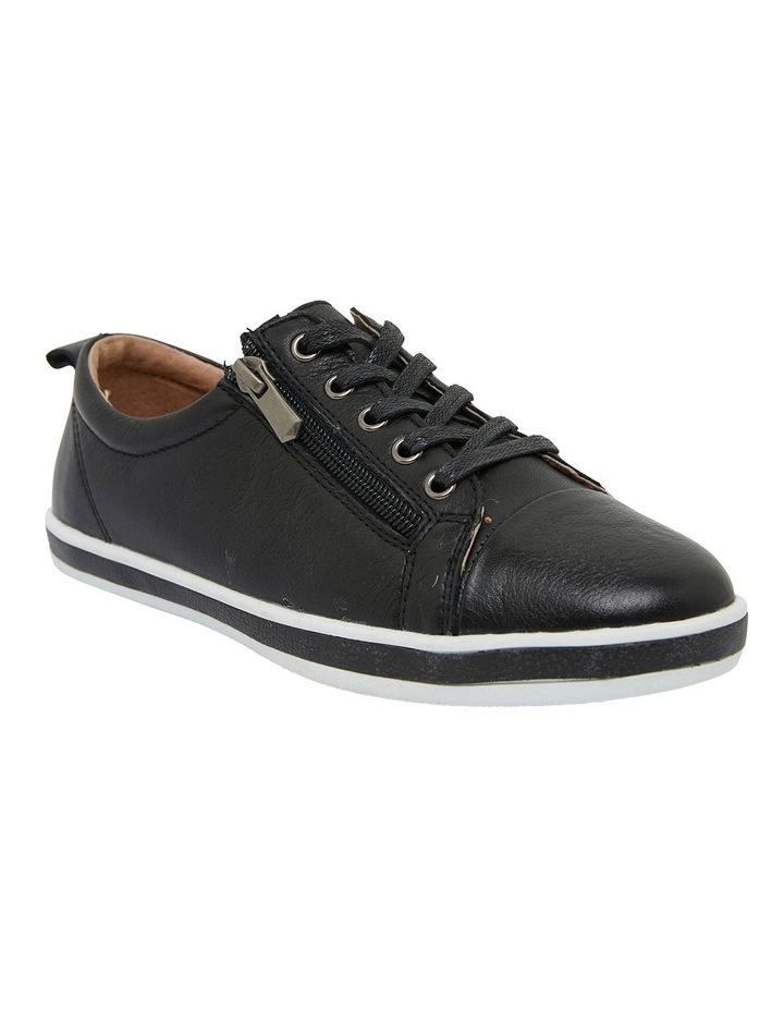 Whisper Black Glove Sneakers image 2