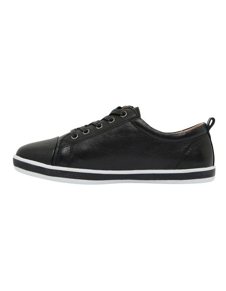 Whisper Black Glove Sneakers image 3