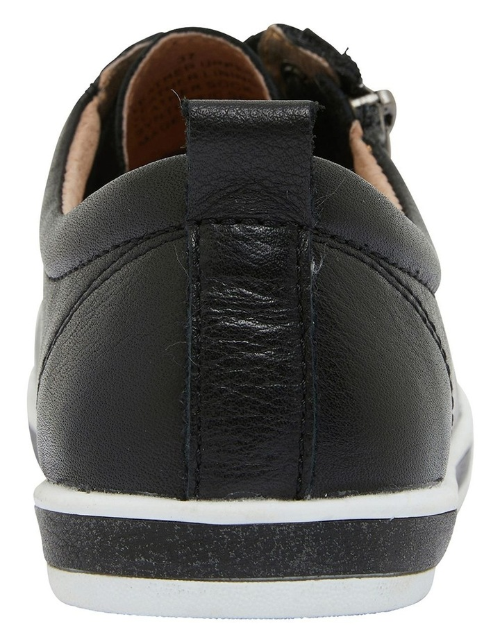 Whisper Black Glove Sneakers image 5