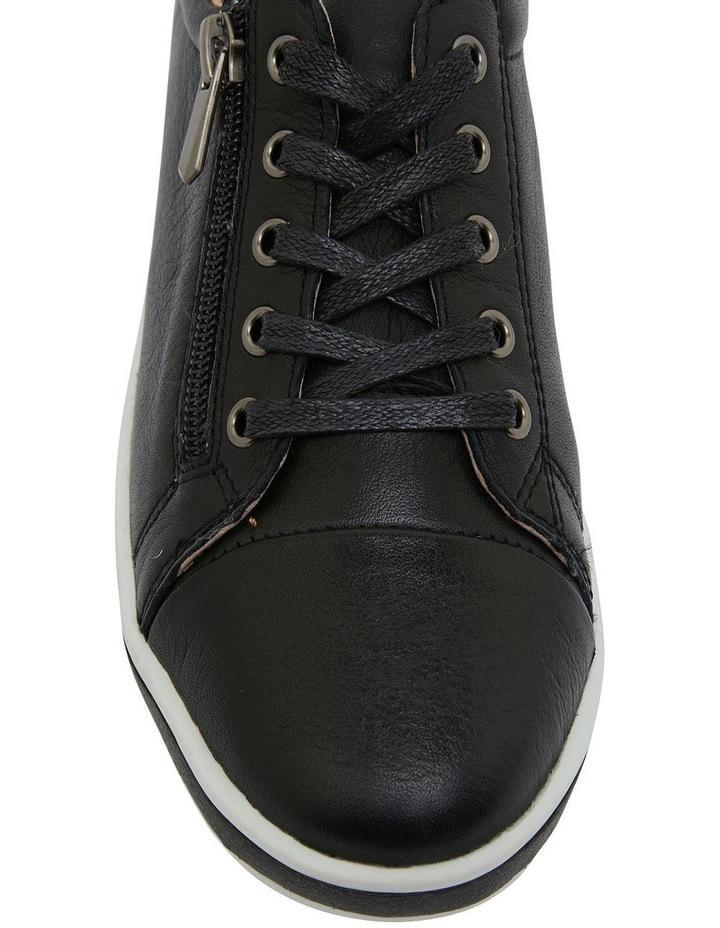 Whisper Black Glove Sneakers image 6