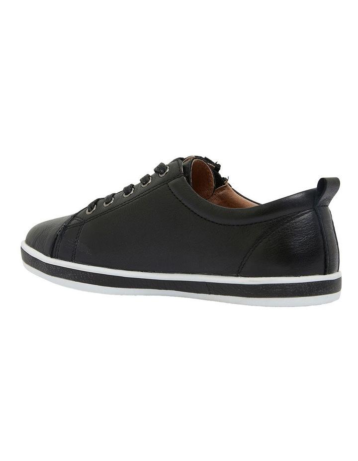 Whisper Black Glove Sneakers image 7