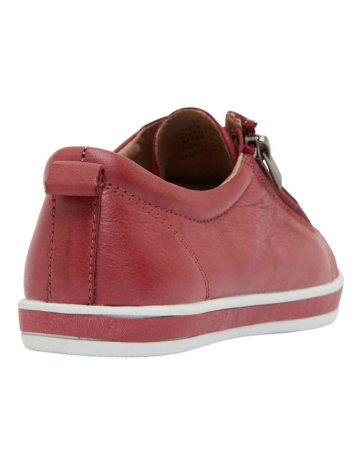 Whisper Red Glove Sneakers image 4