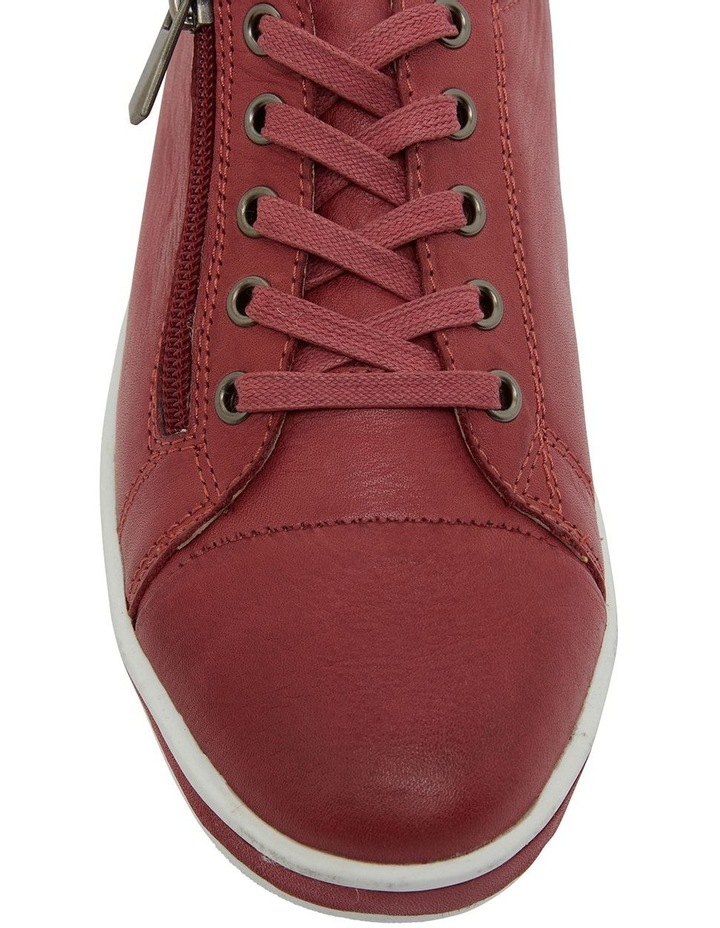 Whisper Red Glove Sneakers image 6