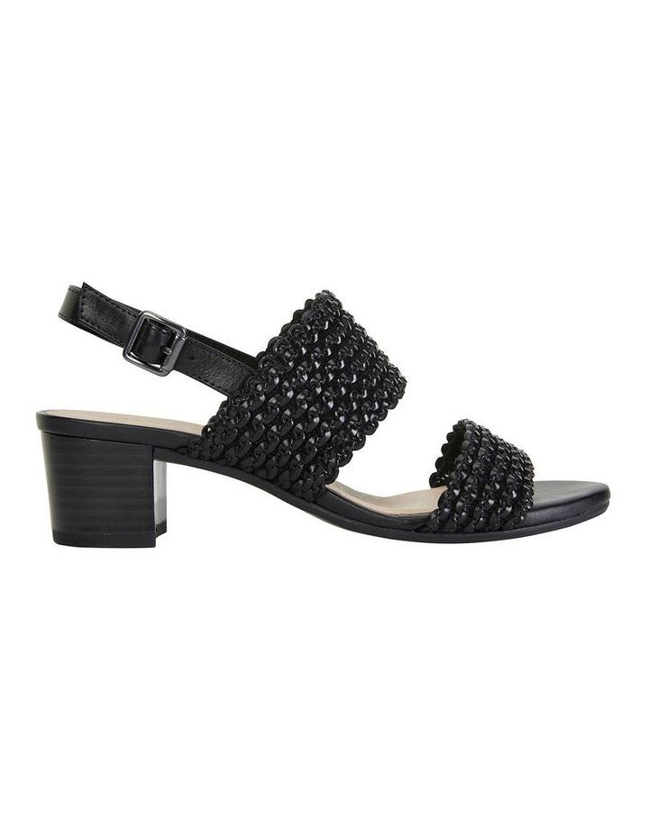Vintage Black Weave Sandals image 1