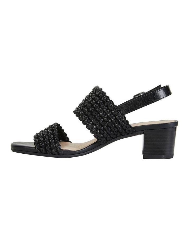 Vintage Black Weave Sandals image 3