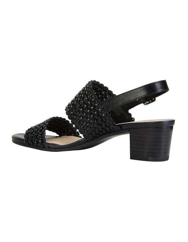 Vintage Black Weave Sandals image 5