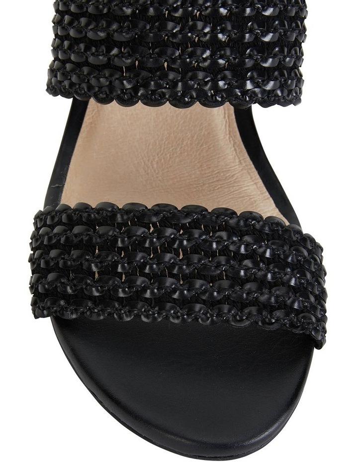 Vintage Black Weave Sandals image 7