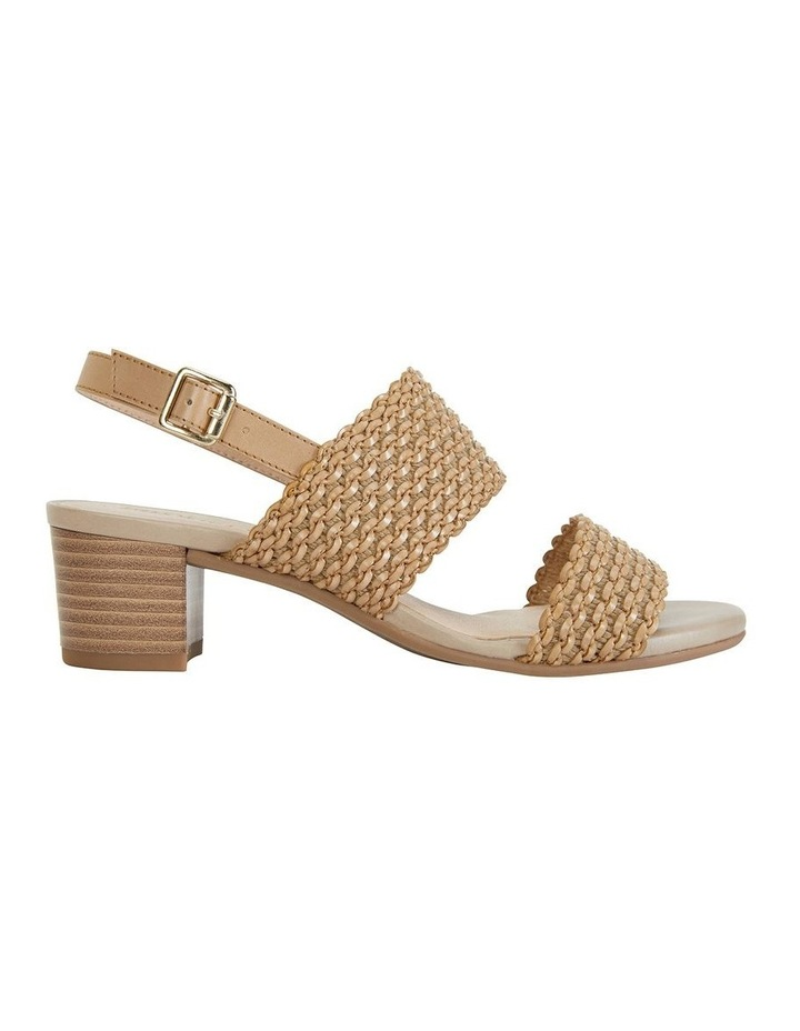 Vintage Neutral Weave Sandals image 1