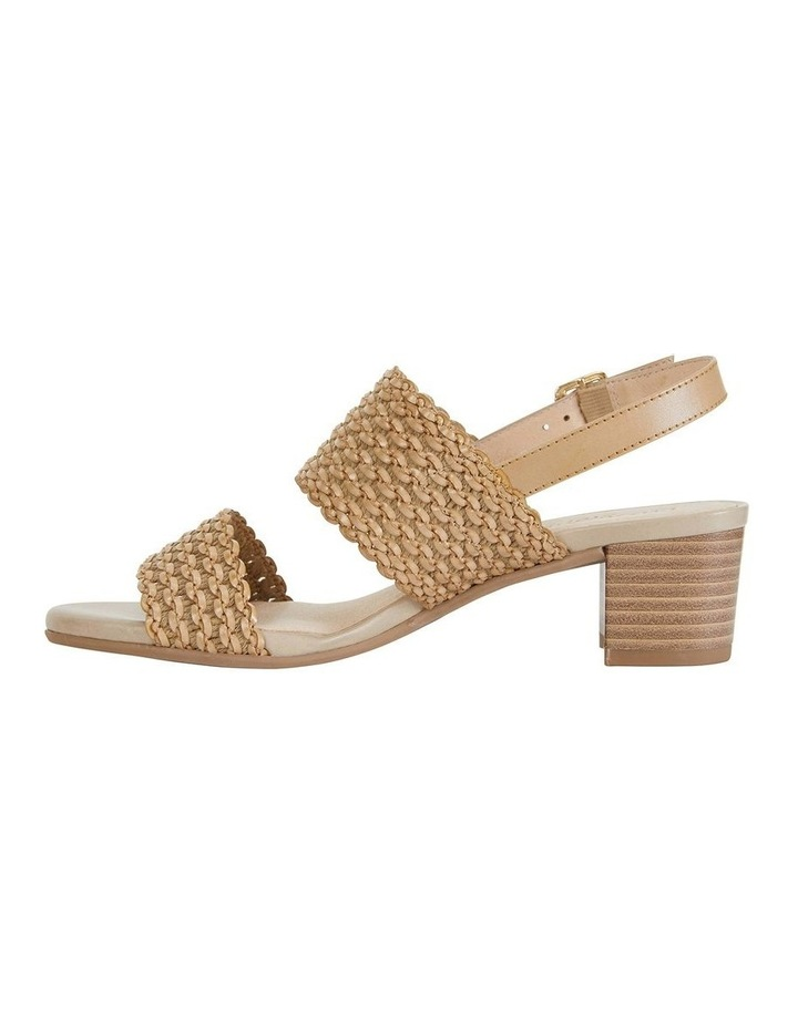 Vintage Neutral Weave Sandals image 3
